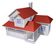 дом семьи Стоковое Изображение