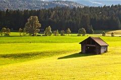 дом сена засыхания Стоковое фото RF