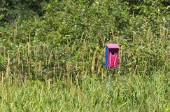 Дом синей птицы Стоковое Изображение