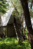 дом сиротливая Стоковое Изображение
