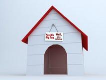 дом собаки s Стоковые Изображения RF
