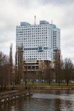Дом Советов - известное незаконченное здание в центре города Калининграда Стоковая Фотография RF