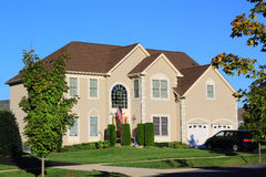 Дом современного типа Стоковое фото RF