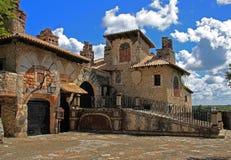 дом среднеземноморская Стоковая Фотография