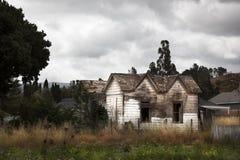 дом старая Реальный путь Стоковые Фотографии RF