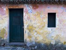 дом старый Уругвай colonia Стоковое Изображение