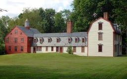 дом столетия восемнадцатых Стоковое Изображение RF