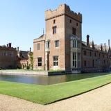 дом страны английская средневековая Стоковая Фотография