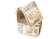 Дом сделанный индейца банкноты 500 рупий Стоковые Фото