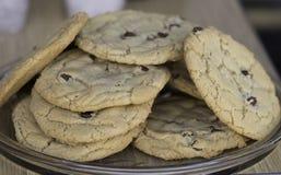 Дом сделал печенья обломоков шоколада Стоковая Фотография RF