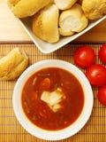 Дом сделал Vegetable суп Стоковая Фотография