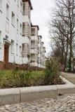 Дом с зеленой зоной стоковая фотография rf