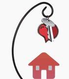 Дом с ключом Стоковая Фотография RF