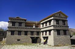дом Тибет Стоковое Изображение RF