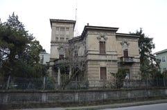 Дом ужаса хеллоуина Стоковое Фото