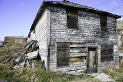 Дом ужасов, Йеллоунайф, NWT Стоковые Изображения