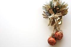 Дом украшения рождества Стоковые Изображения RF