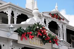 дом украшения рождества Стоковое Изображение