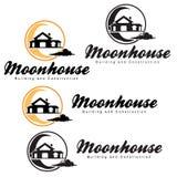 Дом луны стоковые фото