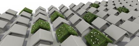 дом устойчивая Стоковые Фото