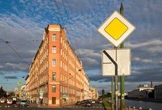 Дом утюга в улице Sadovaya, Санкт-Петербурге Стоковые Изображения