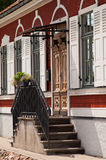 дом фасада старая стоковое фото rf
