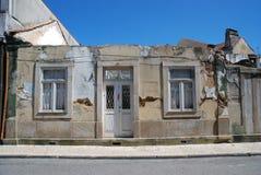 дом фасада старая Стоковое Изображение RF