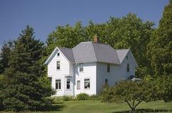 дом фермы старая Стоковое Изображение RF