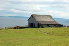 дом фермы старая Стоковая Фотография RF