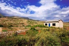дом фермы фарфора Стоковая Фотография RF