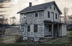 Дом фермы XIX века Стоковое Изображение RF