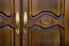 дом фронта входа двери к Стоковое Фото