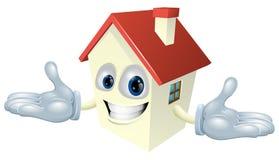 дом характера иллюстрация вектора