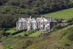дом холма стоковое изображение rf