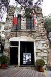 дом Христофора columbus стоковое изображение