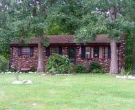 дом цвета кирпича multi Стоковые Изображения RF