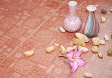 дом цветка пола декора стоковое фото rf