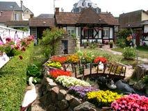 дом цветов Стоковая Фотография