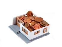 дом центов Стоковые Изображения