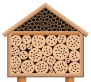 Дом черепашки гостиницы насекомого деревянный Стоковая Фотография