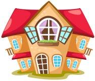 дом шаржа Стоковое Изображение RF