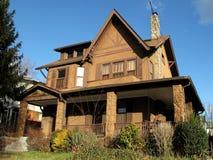 дом шоколада стоковое изображение