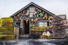 Дом шлюпки Стоковая Фотография