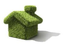 дом экологичности зеленая иллюстрация вектора