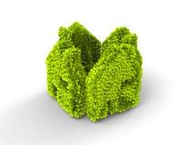 Дом экологичности Стоковые Изображения RF