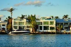 Дом южного пляжа роскошный Стоковая Фотография RF