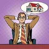 Дом людей мечт бесплатная иллюстрация