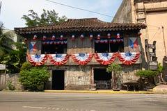 Дом Яп-Сан-Диего родовой в городе Cebu, Филиппинах Стоковая Фотография RF