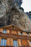 Дом для гостей горы Стоковое фото RF
