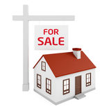 Дом для продажи Стоковое фото RF